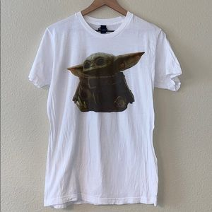 Star Wars Baby yoda/ the child. Men's t-shirt